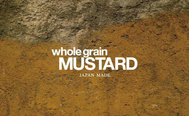 whole grain MUSTARD - JAPAN MADE