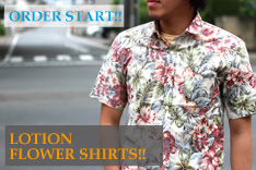 LOTION Flower Shirts
