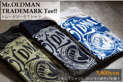 Mr.OLDMAN TRADEMARK Tee