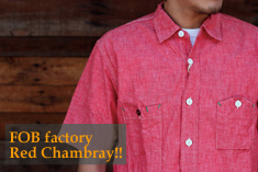 FOB factory Chambray SHirts