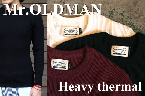 Mr.OLDMAN L/S THERMAL