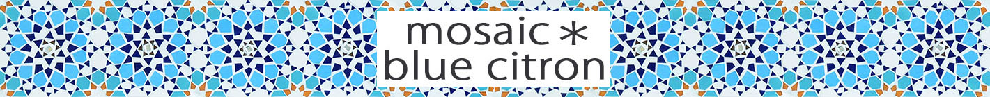 mosaic*blue citron