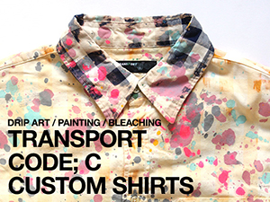 TRANSPORT ART CUSTOM SHIRTS
