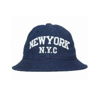 <img class='new_mark_img1' src='//img.shop-pro.jp/img/new/icons1.gif' style='border:none;display:inline;margin:0px;padding:0px;width:auto;' />milk and soda NY Hat Indigo Blue
