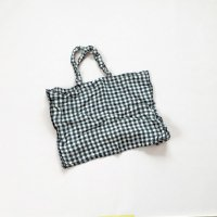 <img class='new_mark_img1' src='//img.shop-pro.jp/img/new/icons16.gif' style='border:none;display:inline;margin:0px;padding:0px;width:auto;' />25%OFF Linge particulier  Sac (Mサイズ)ブラックギンガム