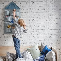 <img class='new_mark_img1' src='//img.shop-pro.jp/img/new/icons1.gif' style='border:none;display:inline;margin:0px;padding:0px;width:auto;' />fermliving House wall poket Blue