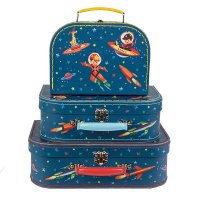 NEW!!Retoro Suitcase Space