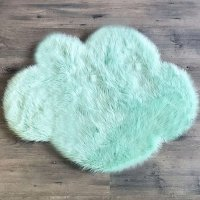 <img class='new_mark_img1' src='https://img.shop-pro.jp/img/new/icons16.gif' style='border:none;display:inline;margin:0px;padding:0px;width:auto;' />限定sale!FUR RUG CLOUD MINT