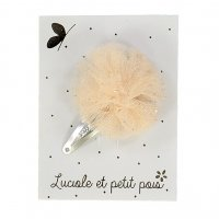 <img class='new_mark_img1' src='//img.shop-pro.jp/img/new/icons1.gif' style='border:none;display:inline;margin:0px;padding:0px;width:auto;' />Kids Pompom hair clip &#8211; Gold
