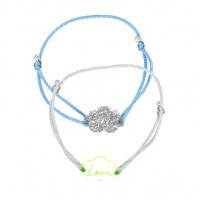 <img class='new_mark_img1' src='//img.shop-pro.jp/img/new/icons1.gif' style='border:none;display:inline;margin:0px;padding:0px;width:auto;' />Kids Bracelets – Silver & yellow neon clouds