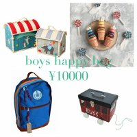 <img class='new_mark_img1' src='//img.shop-pro.jp/img/new/icons43.gif' style='border:none;display:inline;margin:0px;padding:0px;width:auto;' />ラスト1‼ rice happy bag boys