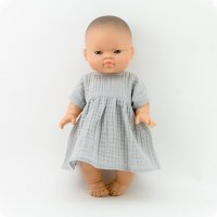 <img class='new_mark_img1' src='https://img.shop-pro.jp/img/new/icons1.gif' style='border:none;display:inline;margin:0px;padding:0px;width:auto;' />Paola Reina doll muslin dress LT/G