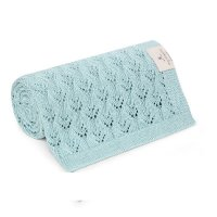<img class='new_mark_img1' src='https://img.shop-pro.jp/img/new/icons1.gif' style='border:none;display:inline;margin:0px;padding:0px;width:auto;' />ラスト1‼mymemi bamboo blanket vintage mint-openwork