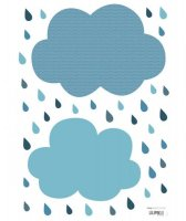 70%OFF Sticker Nuage - Nuages Blue
