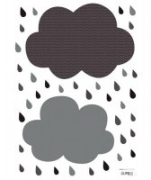 70%OFF Sticker Nuage - Nuages Gris
