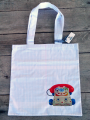 <img class='new_mark_img1' src='https://img.shop-pro.jp/img/new/icons48.gif' style='border:none;display:inline;margin:0px;padding:0px;width:auto;' />Tote Bag Carreaux d'écolier Jouet Vintage  Telephone