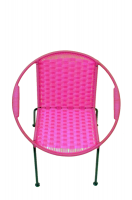 Imandeco Kids Chair Pink