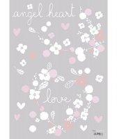 50%OFF Sticker fleurs et papillons romantique