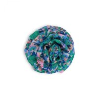 Troizenfants Barrette Blue flower print