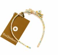Troizenfants serre tete  Turquoise flower