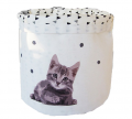 Cylindrical pouch S   Confettis/cat