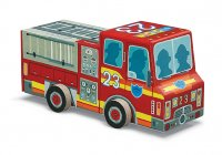 Crocodile Creek  Box puzzle Fire truck 【消防車パズル】