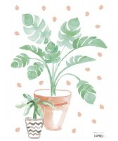 Sticker chambre enfant plantes