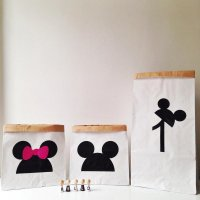 Paper strage bag  Mickey age 1~2