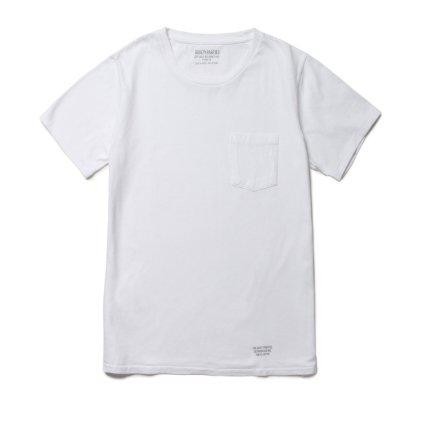 商品名 WACKO MARIA (ワコマリア) | クラシック2パッククルーネックTシャツ(WHT) 品番 GP02-BLANKLINE-TYPE-A-TYPE-B画像2