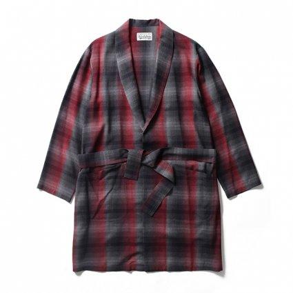 商品名 WACKO MARIA (ワコマリア)|オンブレチェックガウンコート  品番 19SSE-WMS-CO01