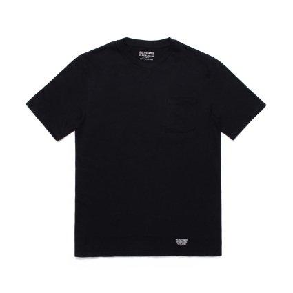 商品名 WACKO MARIA (ワコマリア)   クラシック2パッククルーネックTシャツ(BLK) 品番 GP02-BLANKLINE-TYPE-A/TYPE-B画像2