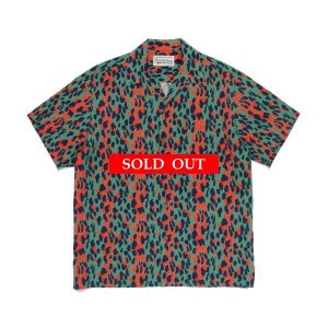 WACKO MARIA | RAGE AGAINST THE MACHINE S/S HAWAIIAN SHIRT(RED) 20SS