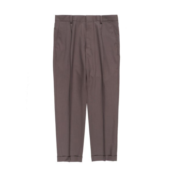 WACKO MARIA (ワコマリア) | PLEATED TROUSERS TYPE-1(BRW) 21春夏