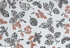 クララ 北欧生地 (ブルー)by Hanna Säfström Design