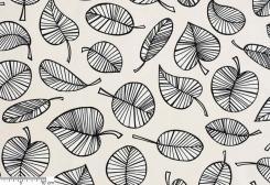 ベンクト 北欧生地 (ベージュ/ブラック)by Hanna Säfström Design