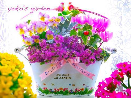 花 プレゼント おしゃれ*冬の記念日お祝い花贈り物ギフト-wedding Party-(送料無料)