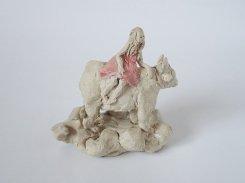 星座 -牡牛座-  【にしだ みき ・陶芸】 星座 モチーフ 陶器 人形 宇宙 スター 雲 メルヘン おもしろ 珍しい 個性的 ユニーク 楽しい