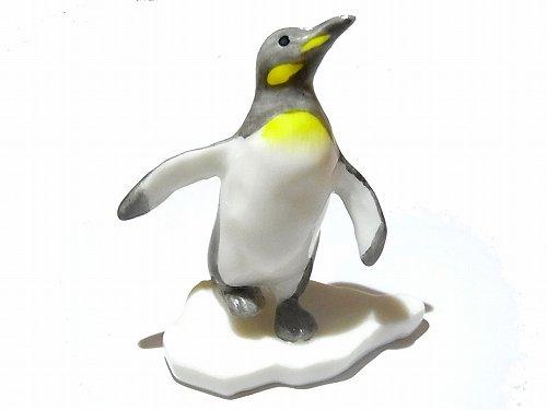 ペンギン親子 ロブ 置物 ( 陶器 )【 Pa...