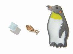 penguin ピアス  【Luccica/ルチカ】【ゆうメール送料無料】 可愛い アクセサリー 動物 アニマル レディース どうぶつ ペンギン