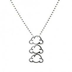 3 cloud pendant 【cloud creator / クラウド クリエーター】 3つの雲 ペンダント