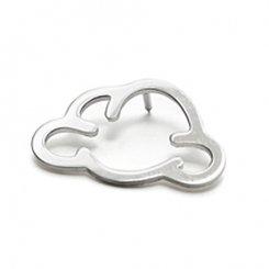 smile cloud pin 【cloud creator / クラウド クリエーター】 スマイル雲 ピンブローチ
