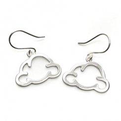 smile cloud earring 【cloud creator / クラウド クリエーター】 スマイル 雲 ピアス