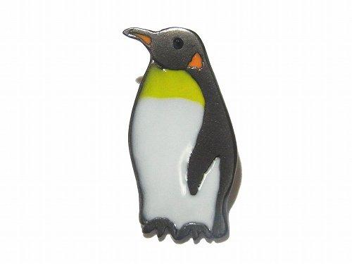 penguin ピンブローチ 【 Luccica / ルチカ 】【 ゆうメール 送料無料 】 アクセサリー ジュエリー おもしろ カワイイ 個性的 アニマル 動物 鳥 バ…