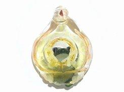 光の射す方へ  【kengtaro/ケンタロー】  カエル ボロシリケイトガラス 職人 作家 蛙 かえる フロッグ 一点 カラフル 芸術 個性的 かわいい おしゃれ