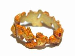 ダンスパーティー リング Palnart Poc パルナートポック 金魚 ユニーク 可愛い アクセサリー 指輪 誕生日 プレゼント 女性 雑貨 おしゃれ おもしろ