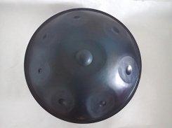 ハンドパン (Dマイナー) 8音程 オーロラカラー(窒化鋼)