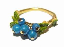 ベリーニ リング Palnart Poc  パルナートポック メール便 送料無料 ベリー 木の実 ブルーベリー 果物 指輪 誕生日 プレゼント 女性 雑貨 おしゃれ ユニーク 上品