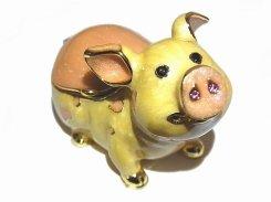 『 ピッグ ジュエリーボックス 』【 ピィアース Piearth Japan 】アクセサリー ジュエリー ボックス 置物 インテリア 動物 アニマル モチーフ オブジェ ぶた ブタ 豚 かわいい