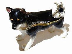 『 日本犬 ジュエリーボックス 』【 ピィアース Piearth Japan 】アクセサリー ジュエリー 置物 インテリア かわいい モチーフ オブジェ ケース 動物 犬 和 日本犬