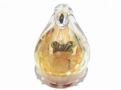 ばぁ (弐)  【kengtaro/ケンタロー】  カエル ボロシリケイトガラス 職人 作家 蛙 かえる フロッグ 一点 カラフル 芸術 個性的 かわいい おしゃれ